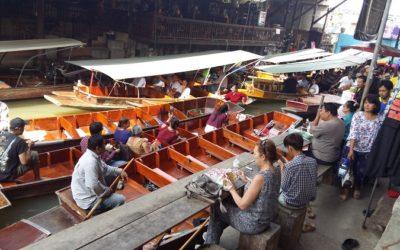 Wodne markety w Bangkoku